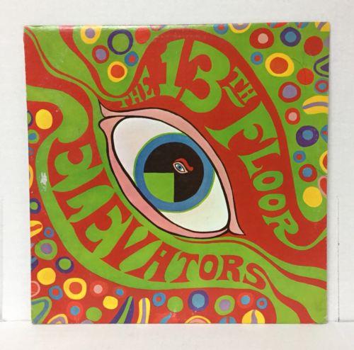 13TH FLOOR ELEVATORS rare PROMO        Psychedelic Sounds        LP IA wlp NM GRAIL
