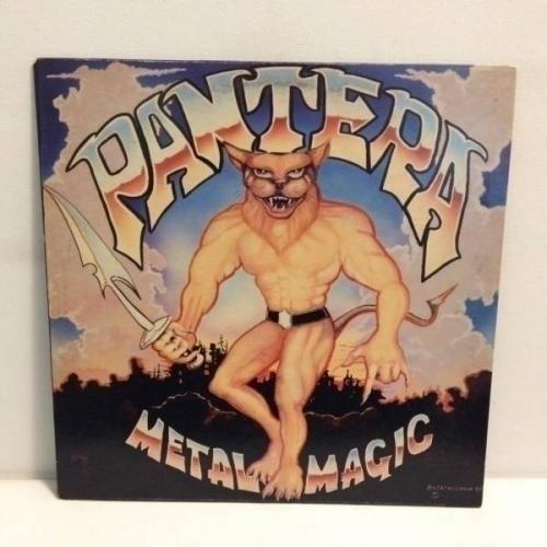 Pantera    Metal Magic Vinyl Record LP Album 1983 Metal Magic Records    MMR 1283
