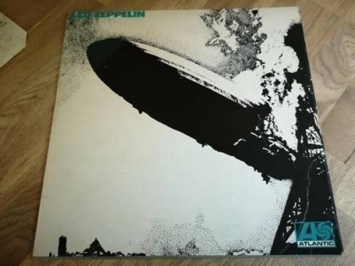 Led Zeppelin LP 1 Same UK Atlantic 1st press Superhype Uncorrected  PLAYS SUPER