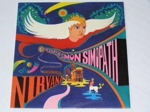 NIRVANA The Story of Simon Simopath LP MINT  STEREO Island 1st Press EYEBALL