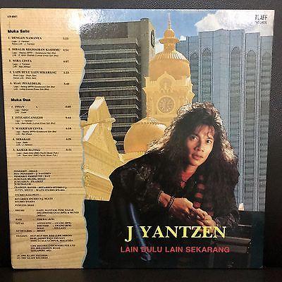 J Yantzen of RUSTY BLADE Singapore Malaysia HEAVY METAL ROCK PROMO Malay LP
