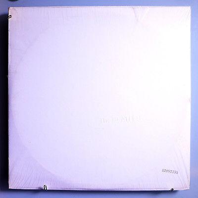 BEATLES WHITE ALBUM INSANELY RARE SEALED ORIG  ED  68 APPLE LP w POSTER PHOTOS