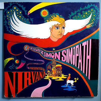 NIRVANA STORY OF SIMON SIMOPATH ULTRA RARE ORIG  67 UK PINK ISLAND PSYCH LP NM