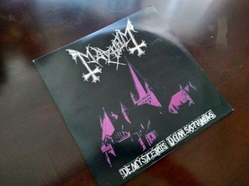 Mayhem        De Mysteriis Dom Sathanas LP First Press 1994 Ultra Rare Antimosh 006