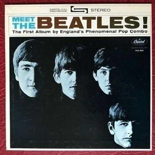 THE BEATLES MEET THE BEATLES CAPITOL COMPACT 33 RPM 1964 7  JUKEBOX EP SXA 2047