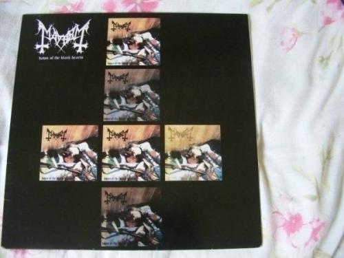 Mayhem   Dawn Of The Black Hearts   Vinyl LP     NM     EXTREMELY RARE       Black Metal