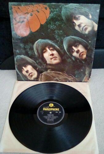 The Beatles        Rubber Soul Vinyl 12  Scarce Loud Cut 1 1 Press PMC 1267 UK 1965