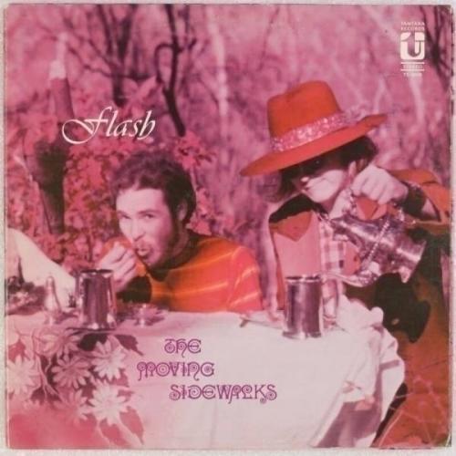 THE MOVING SIDEWALKS  Flash US  68 Tantara ZZ TOP Orig 1st Press Psych LP
