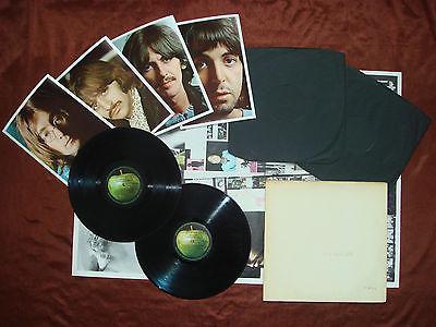 Beatles  MONO PMC 706768 Original UK 0012051 White Album NO EMI 1968 Double LP