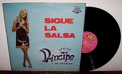 Principe y Su Sexteto Sigue La Salsa  Latin Funk Salsa y Guaguanc     LP Venezuela