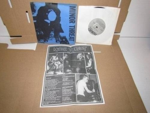 7 EP HARDCORE PUNK MINOR THREAT SELF TITLED DISCORD RECORDS 3 NR12811 EXCELLENT