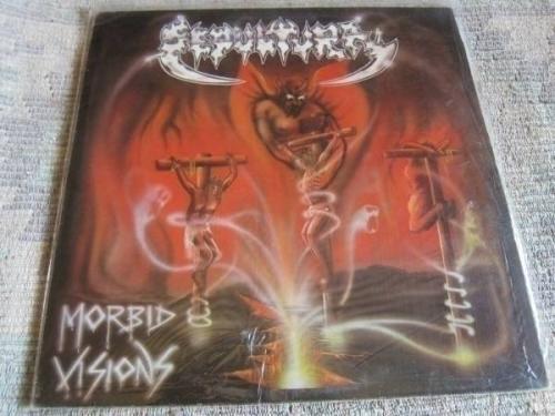 Sepultura Morbid Visions LP NM Death Metal Sarcofago Slayer Venom Sodom Napalm