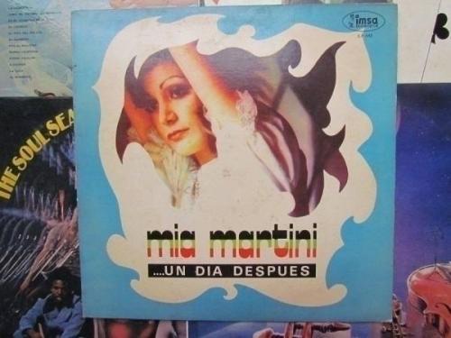 MIA MARTINI ITALY PSYCH ROCK BEAT LP PERU IMSA  UN DIA DESPUES