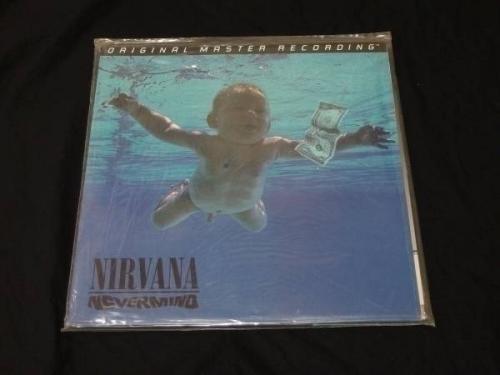 Nirvana   Nevermind Vinyl LP Sealed  MFSL Numbered