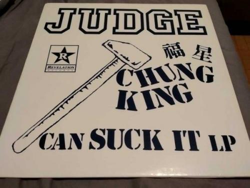 Judge   Chung king can suck it LP first press ltd 100