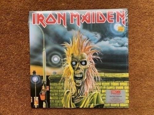 Iron Maiden   EMI 100 Vinyl Album Ltd Edition  Iron Maiden