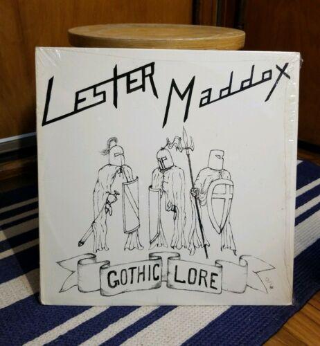 Lester Maddox LP  Gothic Lore  ORIGINAL  Ohio Private Metal  MINT  shrink wrap