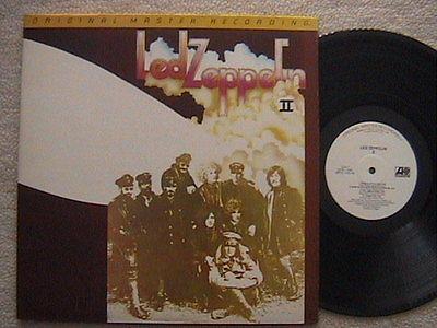 LED ZEPPELIN  LED ZEPPELIN II  LP 1969 ORIGINAL MASTER RECORDING MINT