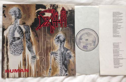 Death   Human LP  1 Press 1991  Bolt Thrower Entombed Morbid Angel Carnage Sadus