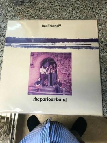 The Parlour band LP Is a friend UK Deram Zal n mint ARCHIVE COPY