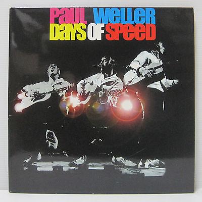 PAUL WELLER   Days Of Speed 2LP 2001 UK ORIG Numbered OASIS OCEAN COLOUR BLUR