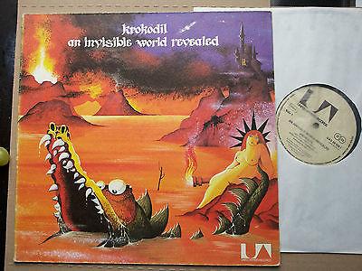 KROKODIL  INVISIBLE  MONSTER 1971 Prog  PSYCH BLUES LP  Krautrock