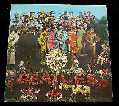 BEATLES Sgt Pepper Danish Parlophone 67 1st Press LP RARE MINT Psych