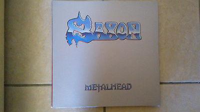 SAXON   METALHEAD LP  HEAVY METAL RARE NWOBHM 333 COPIES NOTVD