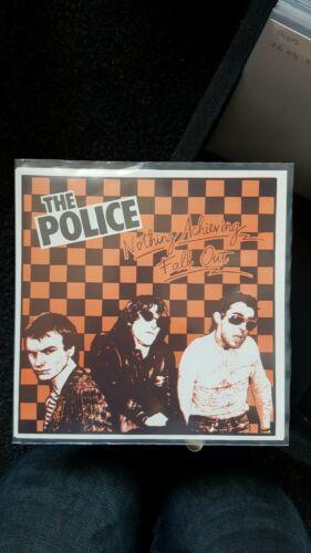 The Police Fall Out Orange Black UK Original 7  1982 100 Copies MINT ULTRA RARE