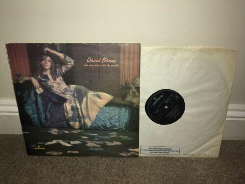 DAVID BOWIE Man Who Sold The World LP Mercury 1971 UK 1st Press
