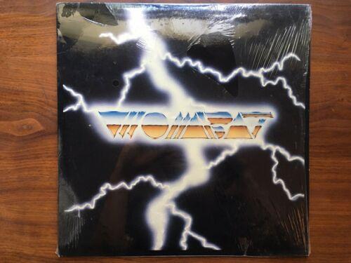 rare WOMBAT 4 song metal EP record 1987 ORIGINAL SHRINK near mint VINYL OOP LP