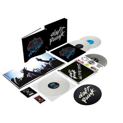 Daft Punk   Alive 1997   Alive 2007   Del  Vinyl 4LP Box   2014   EU   Original