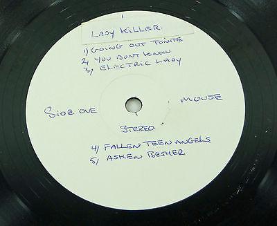 MOUSE  Lady Killer  UK 1973 WL TEST LP orig  PSYCH Sovereign  A 1U  70s Monster