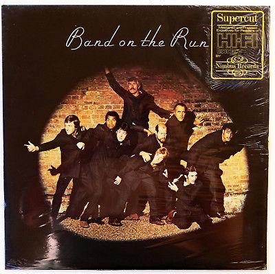 NIMBUS SUPERCUT LP  PAUL McCARTNEY    SEALED     BAND ON THE RUN   UK Audiophile