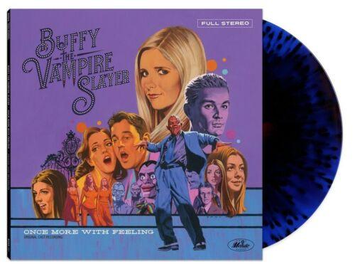 Buffy The Vampire Slayer Once More With Feeling MONDO BLUE RED SPLATTER vinyl LP