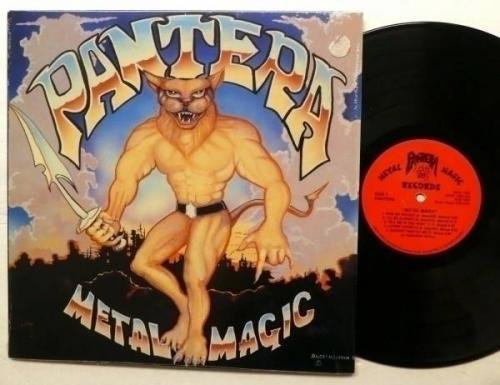PANTERA Metal Magic LP MINT  ORIGINAL 1983 Usa press Heavy METAL  Rp201