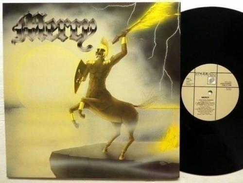 MERCY self titled LP Sweden Press MINT  1984 Heavy Metal Candlemass  Rp345