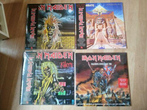 Iron Maiden Iron Maiden Killers Powerslave Maiden England 88 Vinyl Picture Disc