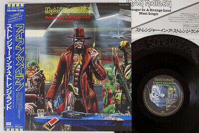 IRON MAIDEN STRANGER IN A STRANGE LAND EMI S19 5009 Japan OBI PROMO VINYL LP