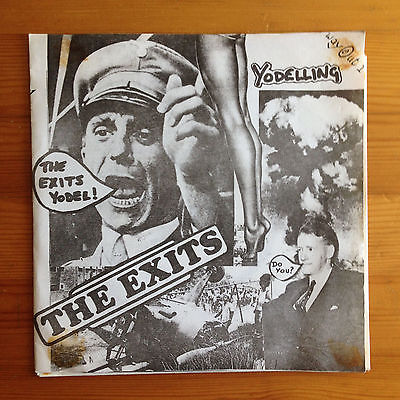 THE EXITS  Yodelling 7 EP  RARE UK Punk 1978 EX