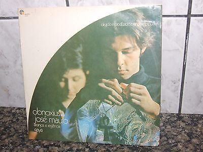 JOSE MAURO   OBNOXIUS   Psych Bossa Jazz BRAZIL   Rare LP 1970   first edition