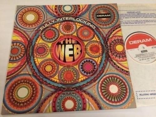 THE WEB fully interlocking LP 68 UK DERAM SML 1025 psych jazz