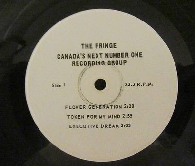 THE FRINGE WLP PROMO 33 RPM 7 EP CANADA ONLY PSYCH HOLY GRAIL 1967 Nr Mint RARE