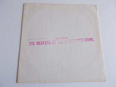 Beatles1977 Capitol Advance Pressing At The Hollywood Bowl DJ LPVGNMRARE