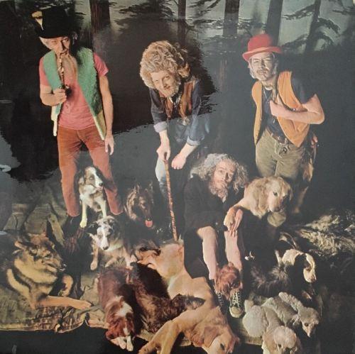 JETHRO TULL THIS WAS LP PINK ISLAND ORANGE EYE UK 1968 1ST PRESS WIDE SPINE