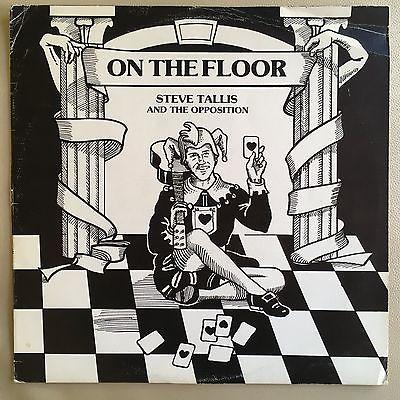 Steve Tallis   On The Floor   OZ 1979 EMI Private Press LP Perth   Prog Blues