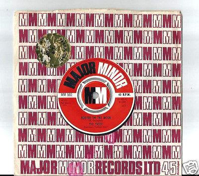 THE TASTE    BLISTER ON THE MOON  7  45 UK 1ST SINGLE BLUES ROCK 1968 MEGARE