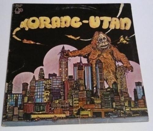 ORANG UTAN 1971 UK HEAVY BLUES PSYCH RARE US ONLY LP VG  PROMO