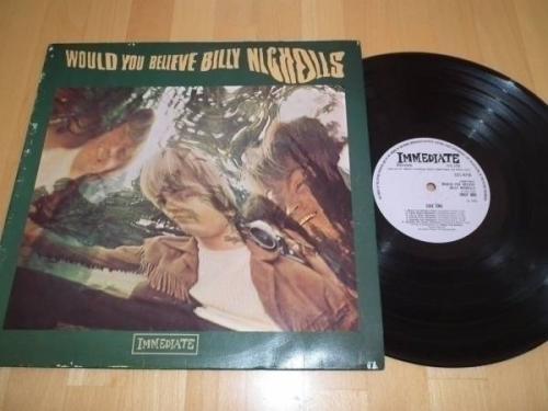 Billy Nicholls   Would you Believe   Ultra Rare original 1968 UK Psych LP