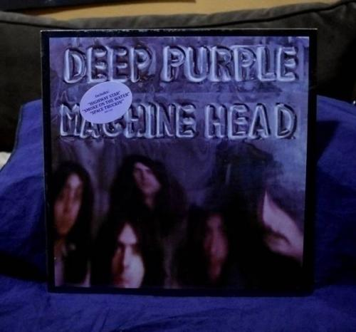 DEEP PURPLE VERY RARE SEALED LP MACHINE HEAD 1970s USA PRESS RARE HYPE STICKER